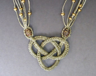 Josephine Knot Necklace Tutorial