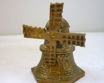 Brass Decorative Detailed Windmill Bell