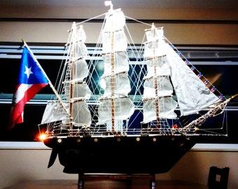 Original one of a kind Sailing Ship