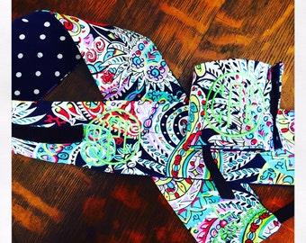Colorful Paisley Wrist Wraps