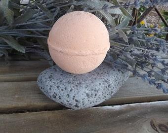 Bath Bomb - Energize- Tangerine & Grapefruit - Aromatherapy - Wedding Gift - Gift for her