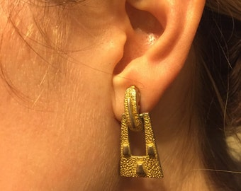 Goldish Dingle earrings