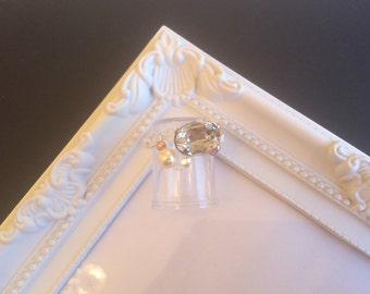 Swarovski ring with beads