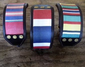 Leather Lurcher Collars