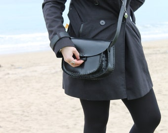 Bag in black leather