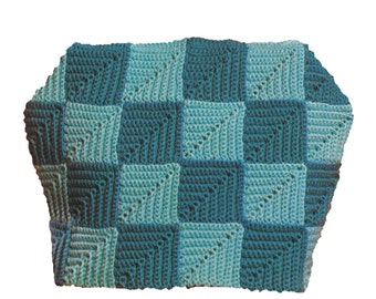 Vintage 1950's Crochet Tea Cozy Pattern