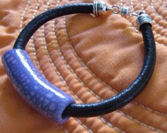 Women's Leather Cord Bracelet