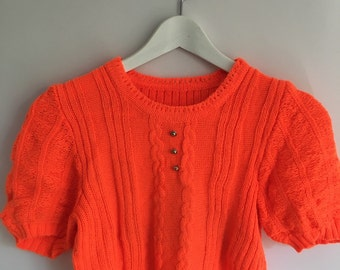 90's Vintage knitted top.