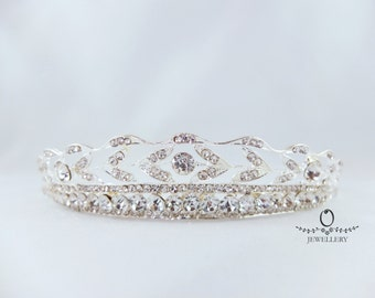 Elegant Rhinestone Bridal Tiara