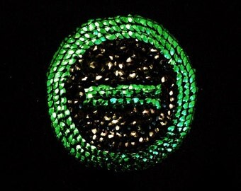 Type O Negative sequin patch