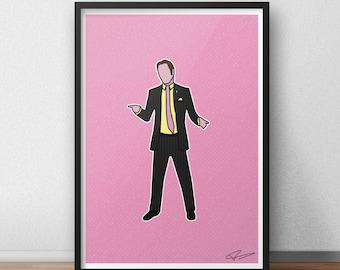 Breaking Bad - Saul Goodman Print