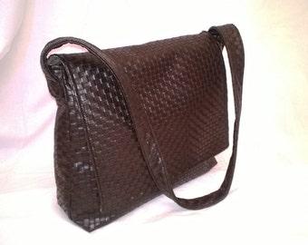 Laptop bag - bag man - bag man - father's day - bag - bag Brown Vegan - vegan chocolate bag