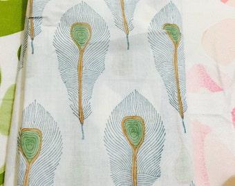 2.5 mtr cotton mul mul fabric
