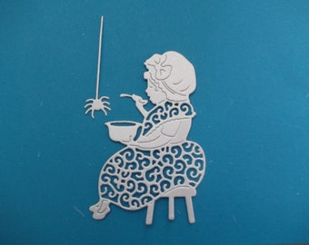 tattered lace little miss muffet die cuts