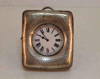 Vintage english watch in silver box