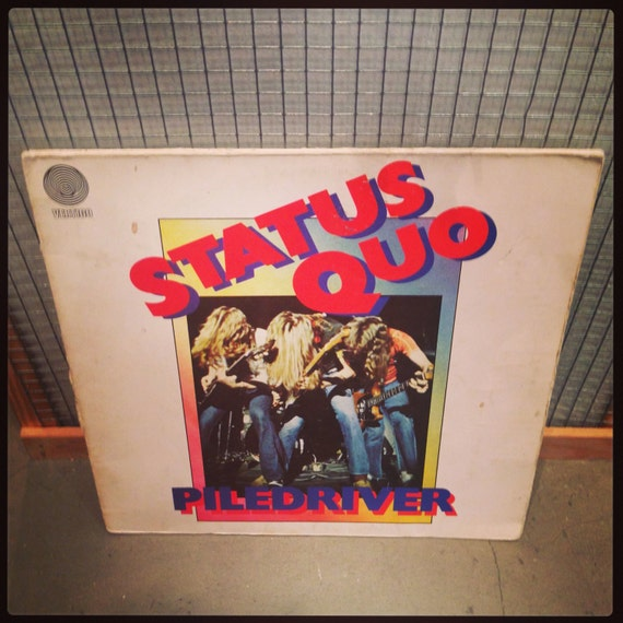 Status Quo - Piledriver vinyl