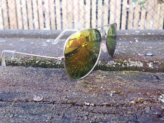 Retro aviator sunglasses ES12