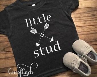 Little Stud Arrow Tee