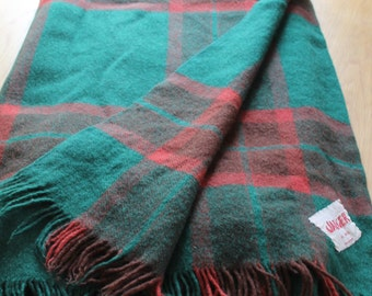 Jaeger Vintage Woollen Blanket