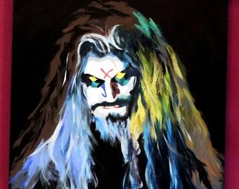 Rob Zombie - acrylic