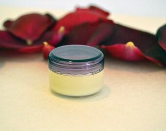 Natural Organic Rose Face Cream 0.17oz (5ml) for Dry/Normal Skin SAMPLE