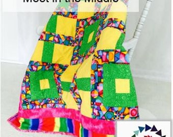 Meet in the Middle Digital Quilt Pattern