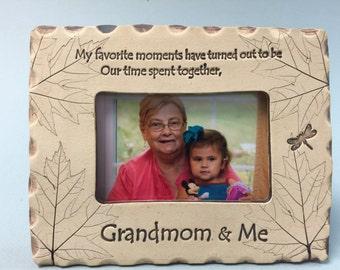 Grandmom Frame, Grandmom gift, best Grandmom gifts