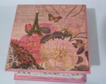 Paris in Pink I Jewelry Box