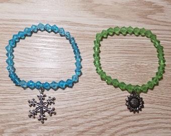 10 Inspired Frozen Fever Bracelets Party Favors