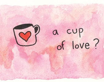 A cup of love?