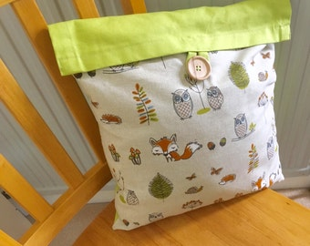 Wildlife style cushion