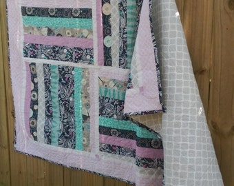 Birds of a Feather Throw Quilt
