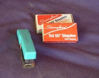Rare Turquoise Swingline Stapler