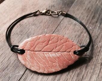 Leaf Cuff Bracelet