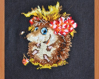 "Embroidery ""Hedgehog"""