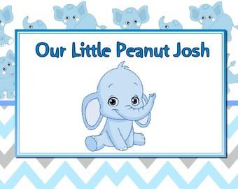 Little Peanut Personalized placemat