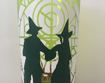 Wicked musical tall glass