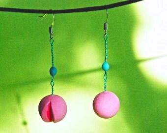 Dangle Sphere Earrings