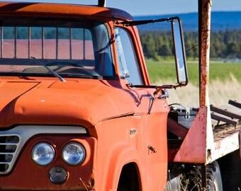 Rusty Truck Mirror
