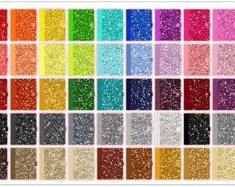 Glitter Planner Stickers
