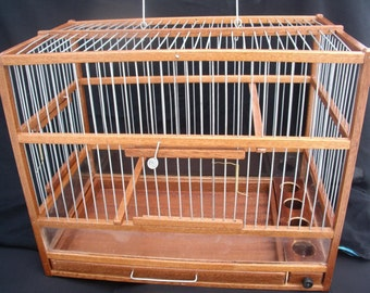 Wood Bird cage   Hand Crafted