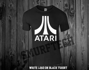 ATARI Crewneck T-Shirt - Multiple Colors!