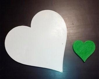 Hearts decorate decoration DIY hobbies decoupage on plastic heart
