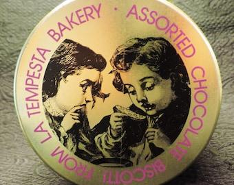 La Tempesta Bakery Biscotti Tin