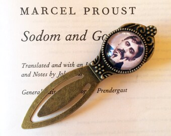 Marcel Proust Bookmark - Proust Bookmark, À la recherche du temps perdu Bookmark, In Search of Lost Time Bookmark