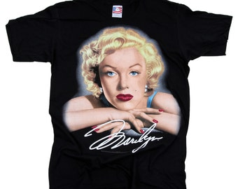 Vintage Marilyn Monroe t-shirt  Big Face  x-large made in USA 1995 New without tags
