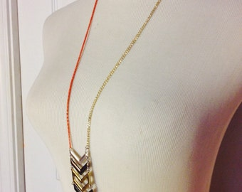 Upcycled Arrow Necklace