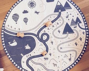 Rainy Days play mat  by WilburWIlder
