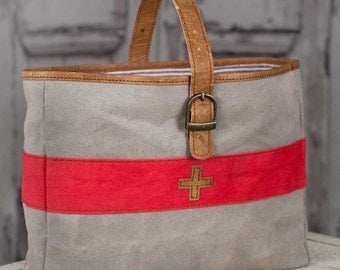 Swiss Army Carry-All tote