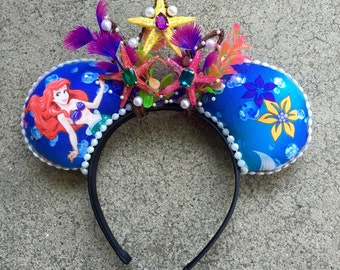 Under the sea inspired ears!